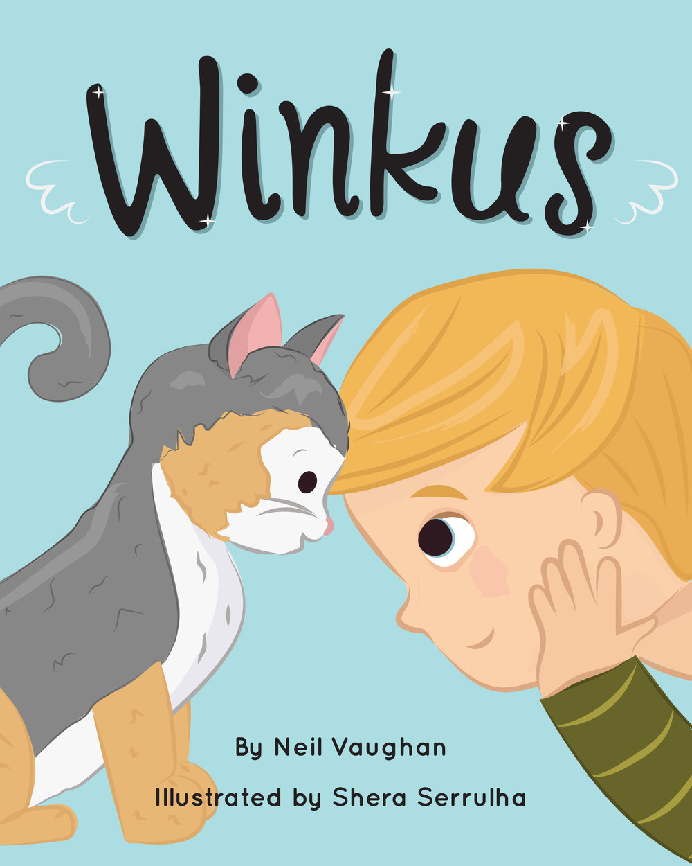 Winkus: Children's Book Design & Illustrations - A story about a boy and his cat whose love was boundless. When Sam's mother gifts her son a young kitten, they bond instantly and form a special connection. Sadly, the kitten passes away, and Sam works through the difficult emotions of losing a pet. Youngsters who have also lost beloved pets can see themselves and their feelings mirrored in Sam and Winkus, and will find comfort in the story. Purchasing information to follow.
