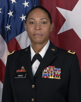 Copy of Major General Linda L. Singh, Adjutant General of Maryland