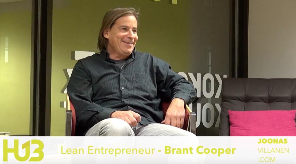 Brant Cooper in Helsinki