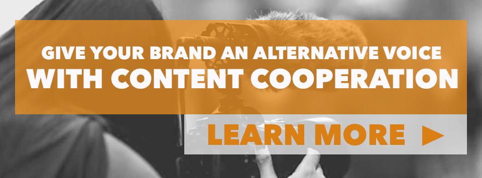 Content cooperation