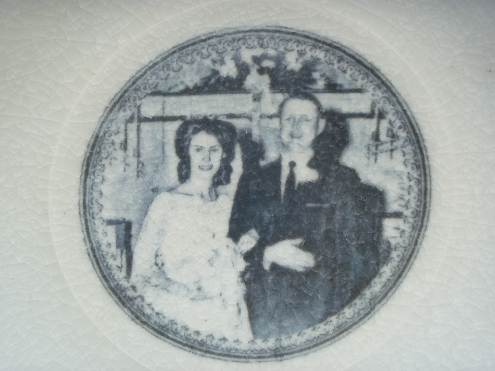 Wedding Plate detail
