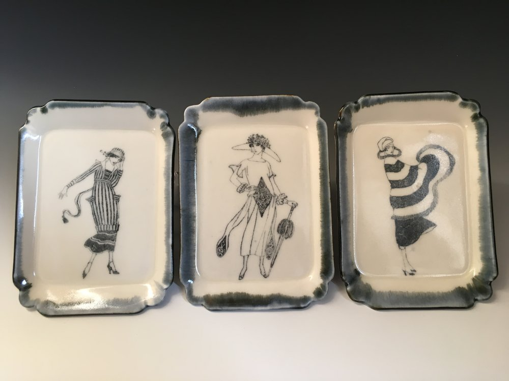French Lady Trays
