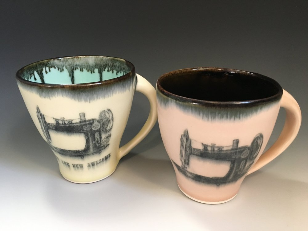 Sewing Machine Mugs