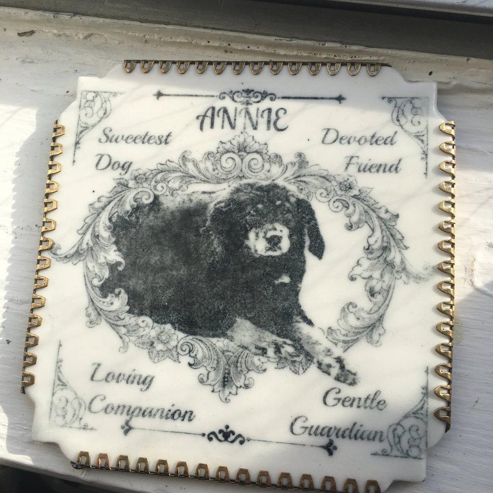 Annie Memorial Tile