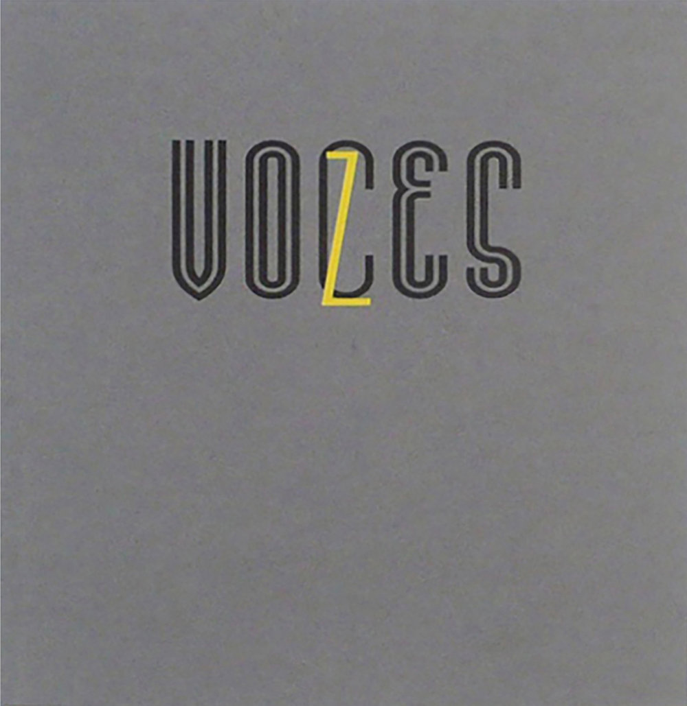 VOCES: Latin American Photography 1980 - 2015  Authors: Chantal Fabres and Natalie Goffard  58 pages  English  Softcover 21 x 17 cm  Published by Michael Hoppen Gallery, London