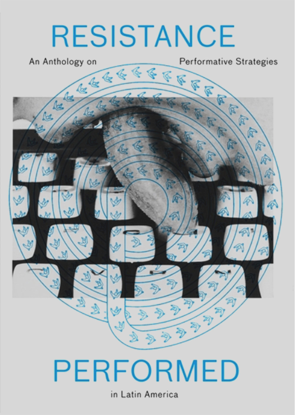 RESISTANCE PERFORMED: An Anthology on Aesthetic Strategies under Repressive Systems in Latin America  Authors: Rodrigo Alonso, Cornelia Huth, Miguel A. López, Heike Munder, Tobias Peper, Nelly Richard, Cristiana Tejo, Stefanie Wenger  Editors: Heike Munder, Raphael Gygax  220 pages,  English | Hardback, 27,5 x 20.8 cm.  Publisher JRP Ringier and the Migros Museum für Gegenwartskunst, Zürich.  ISBN 9783037644461  The publication Resistance Performed—Aesthetic Strategies under Repressive Systems in Latin America addresses performative artistic strategies as a lived practice of resistance in Latin American countries such as Argentina, Brazil, and Chile. At the core of this reflection are historical positions that have borne witness to the way people have resisted repressive and dictatorial political systems in Latin America since the 1960s, often jeopardizing their own lives.  The intention is to conduct a fresh exploration of the idea of resistance through a dialogue with contemporary positions. Performative strategies have regained significance in contemporary artistic practice in recent years, raising the question of whether these are still viable strategies to undermine hierarchical structures or even change political systems today? The publication includes essays by Rodrigo Alonso, Miguel A. López, Heike Munder, Nelly Richard, and Cristiana Tejo, and reflects on topics such as Argentina and its sociopolitical and interventional aspect; gender issues; collective memory and the notion of body trauma in Latin America; the dictatorship in Chile; and ephemeral art, more specifically Mail art.
