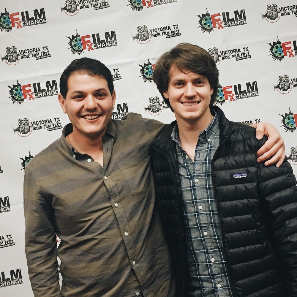 Producer Myles Siegel and myself