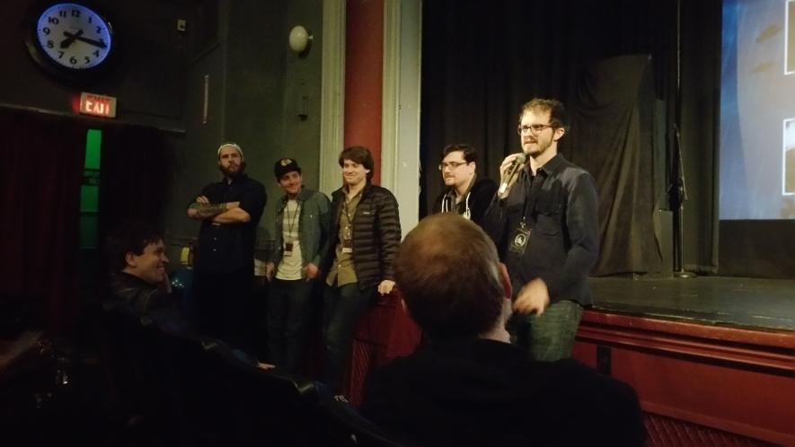 Hoping for Something Else shorts program Q+A at 2015 Boston Underground Film Festival. Photo by Jay Seaver