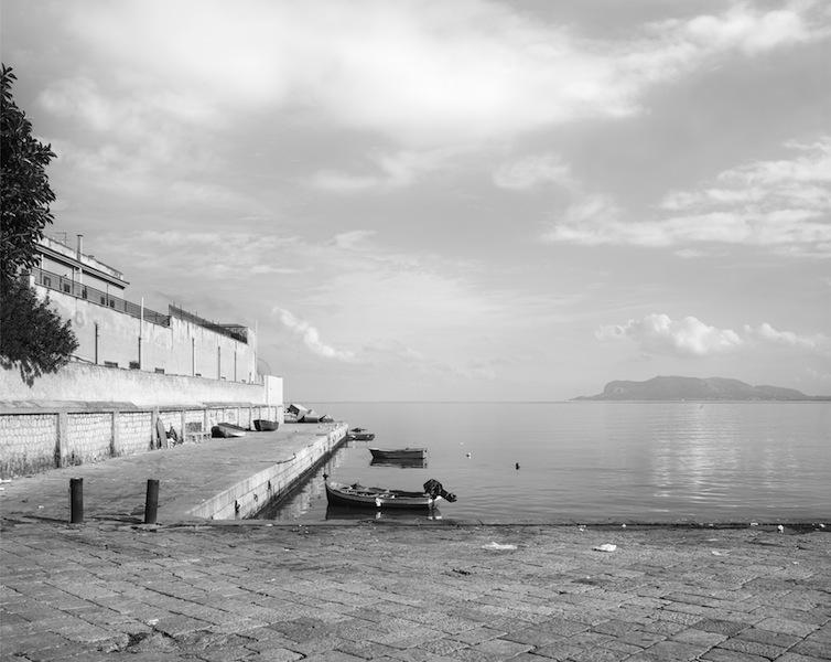 John Riddy, Palermo (Caletta San Erasmo), 2012, Archival pigment print, 29 1/8 x 36 5/8 inches, JRI1202  Lawrence Markey Inc.  2/6