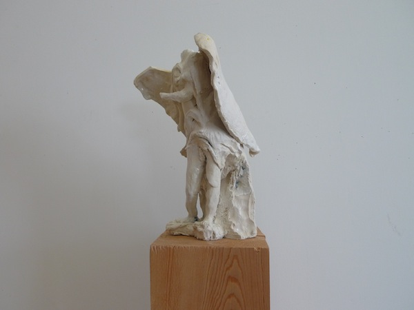 Anne Chu, Bernini Terracotta: No. 44 (Angel with Superscription), 2014