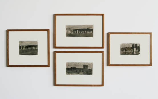 james-castle-at-Lawrence-Markey-2007-installation-view
