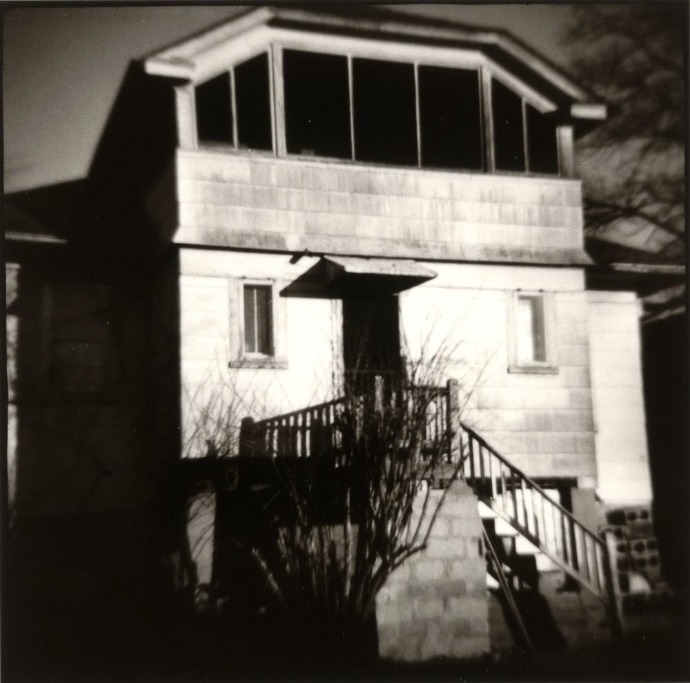 Nancy Rexroth,  Back Porch, Washington, D.C. , 1972, Vintage gelatin silver print, sheet: 8 x 10 inches, image: 4 x 4 inches, NRE7201  Lawrence Markey Inc.  3/8