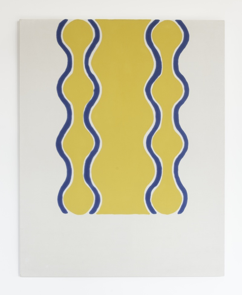 Paul Feeley,  #22 , 1963, Oil-based enamel on canvas, 59 1/2 x 47 1/2 inches, PFE6314  Lawrence Markey Inc.  2/5