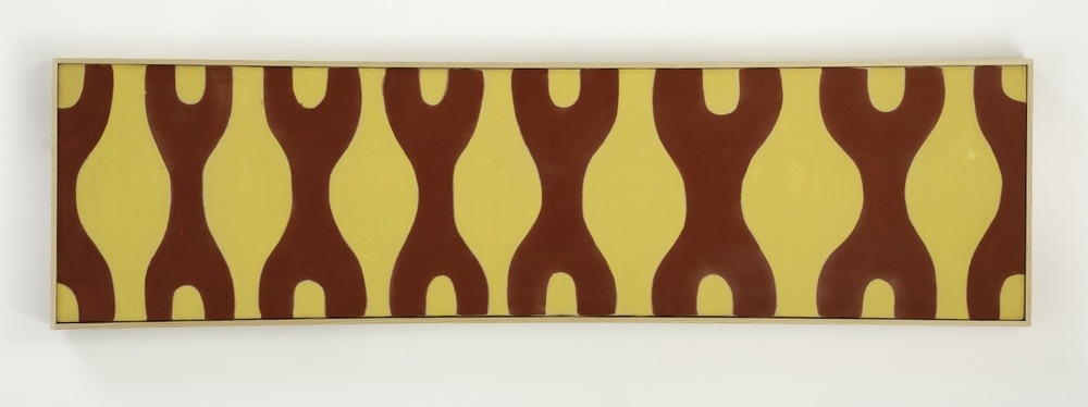 Paul Feeley,  #56 , 1962, Oil-based enamel on canvas, 16 x 60 inches, PFE6227  Lawrence Markey Inc.  5/5