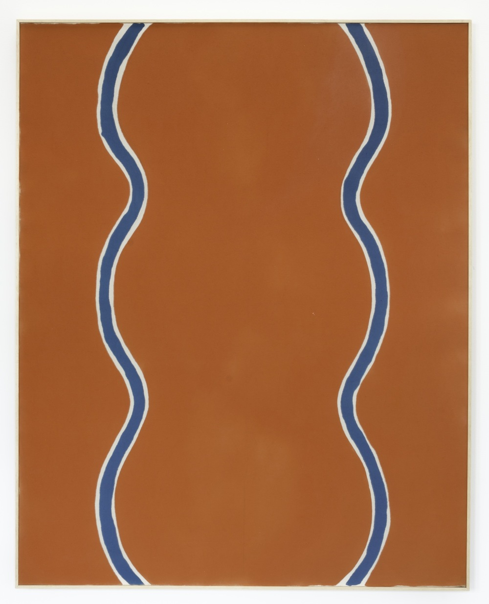 Paul Feeley,  Pakijanes , 1963, Oil-based enamel on canvas, 60 x 48 inches, PFE6312  Lawrence Markey Inc.  3/5