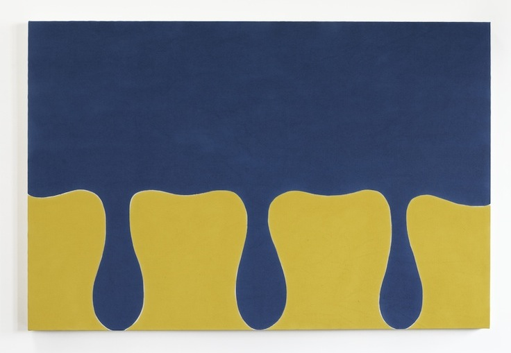 Paul Feeley,  #15 , 1962, Oil-based enamel on canvas, 52 x 78 inches, PFE6231  Lawrence Markey Inc.  4/5