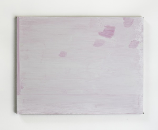 John Zurier, Untitled (Softly), 2011, Oil on linen, 26 x 34 inches, JZU1102  Lawrence Markey Inc.  2/5