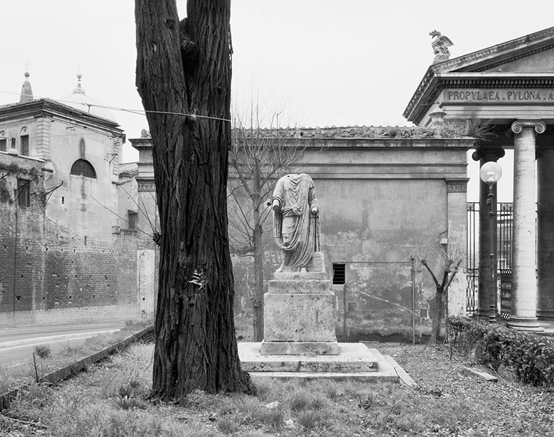 John Riddy,  Rome (Flaminio 2), 1999 , Silver gelatin print, 15 x 18 7/8  inches  4/8  Lawrence Markey Inc.