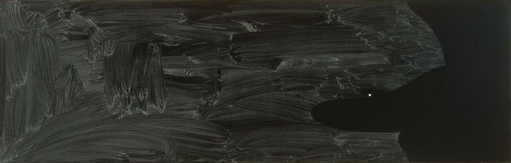 Robert Moskowitz, Untitled, 1997, Oil on canvas, 25 x 78 inches  2/3  Lawrence Markey Inc.