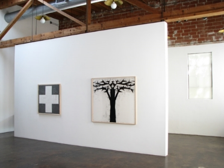 robert-moskowitz-at-Lawrence-Markey-2010-installation-view