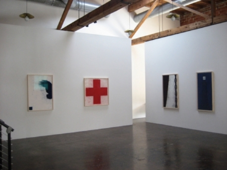 robert-moskowitz-at-Lawrence-Markey-2007-installation-view