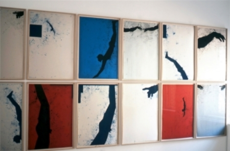 robert-moskowitz-at-Lawrence-Markey-2003-installation-view