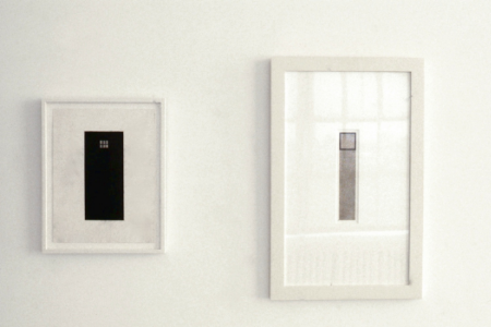 robert-moskowitz-at-Lawrence-Markey-1996-installation-view
