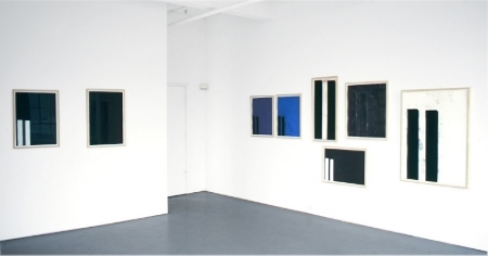 robert-moskowitz-at-Lawrence-Markey-1995-installation-view