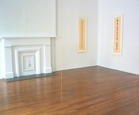 fred-sandback-at-Lawrence-Markey-2004-installation-view
