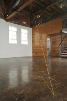 fred-sandback-at-Lawrence-Markey-2005-installation-view