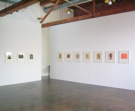 acharya-vyakul-at-Lawrence-Markey-2006-installation-view