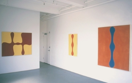 paul-feeley-at-Lawrence-Markey-1999-installation-view