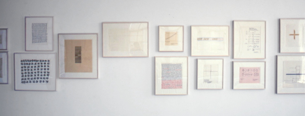 Mel Bochner at Lawrence Markey 1998 5.jpeg