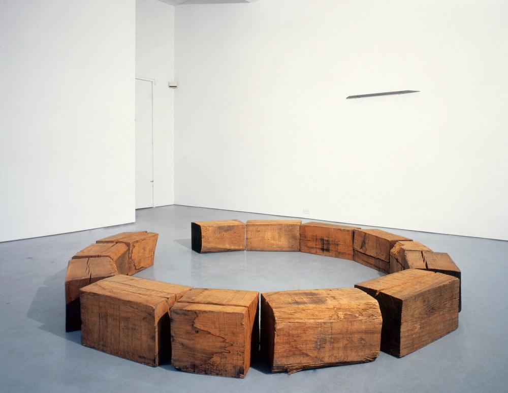 Richard Nonas at Lawrence Markey 1990-91 1.jpeg