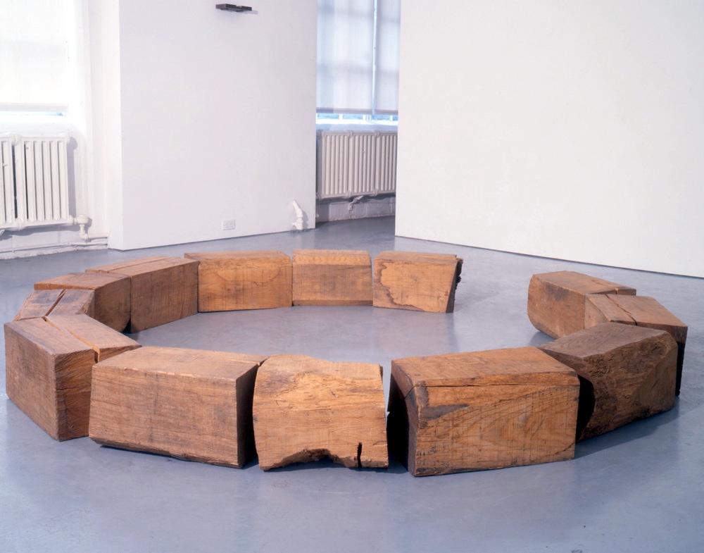 Richard Nonas at Lawrence Markey 1990-91.jpeg