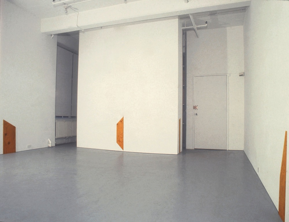 Richard Tuttle at Lawrence Markey 1990-91 2.jpeg