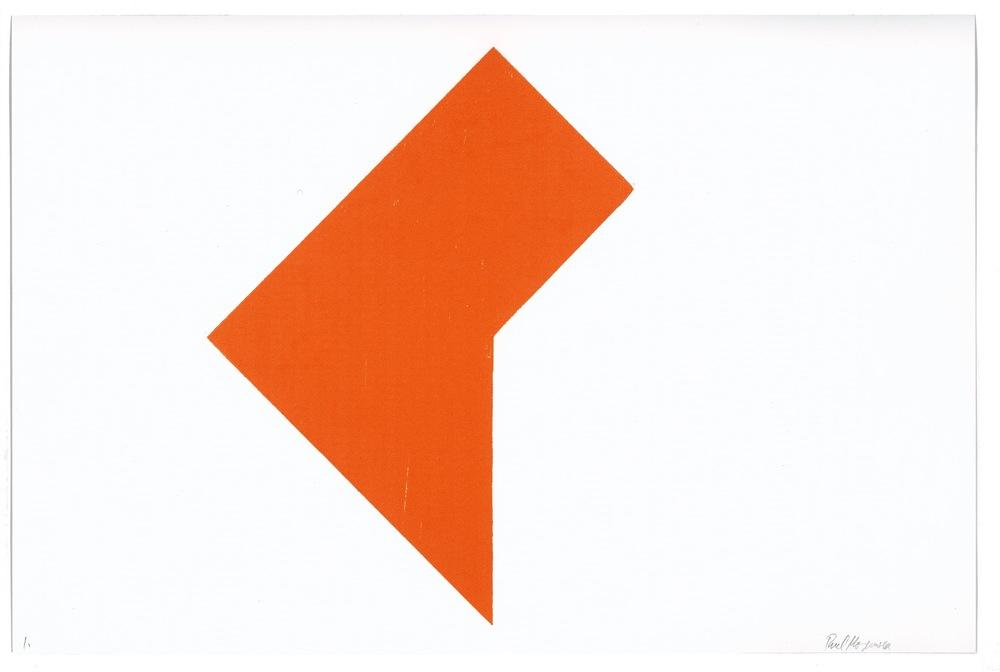 Minus 3/8, Orange,10 x 15 in.