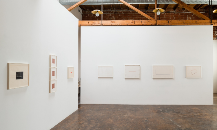 fred-sandback-at-Lawrence-Markey-2015-installation-view