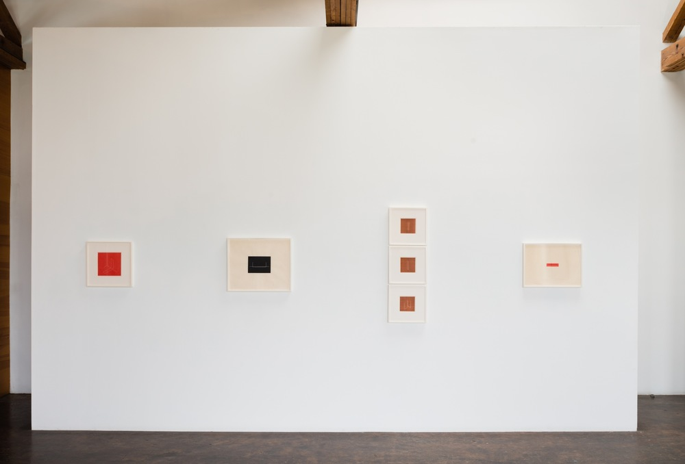 Fred Sandback Prints at Lawrence Markey 2015_2.jpeg