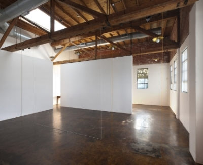 fred-sandback-at-Lawrence-Markey-2010-installation-view