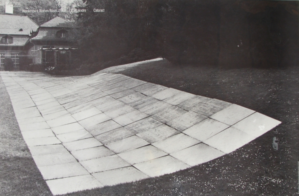 CARL ANDRE  Cataract  1980  Wenkenpark Riehen, Basel