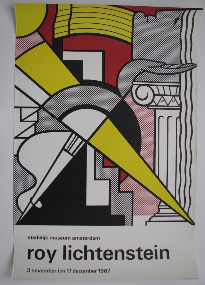 Roy Lichtenstein  Nov. 3 - Dec. 17, 1967  Stedelijk Museum Amsterdam