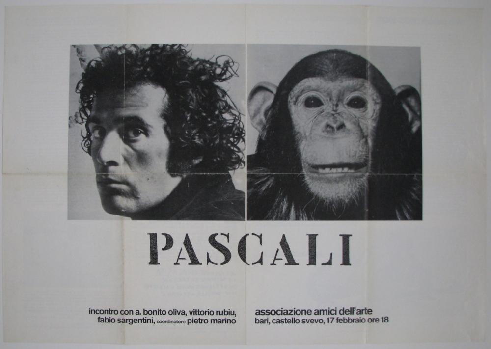 PINO PASCALI  February 17, 1973  Associazione Amici dell'Arte, Bari