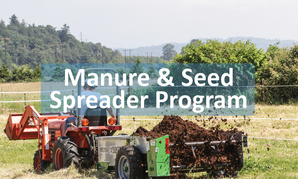 Manure & Seed Spreader Program Button