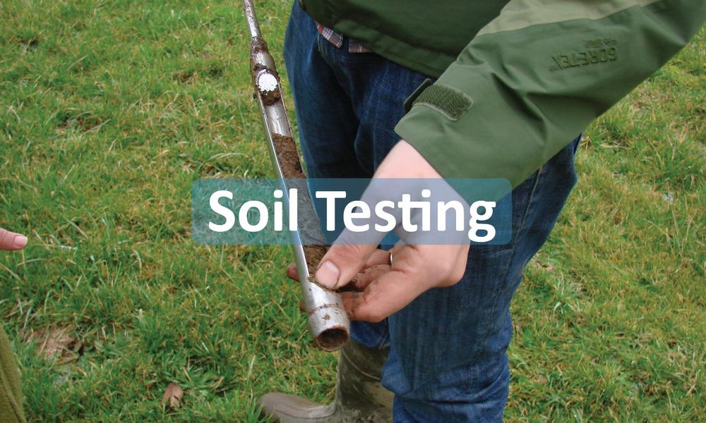 Soil testing program