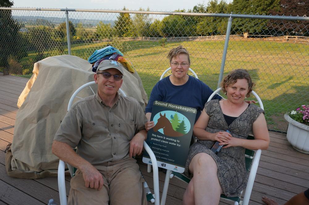 Nona, Mike & Brenda Clifton- Bellfire Stables.JPG