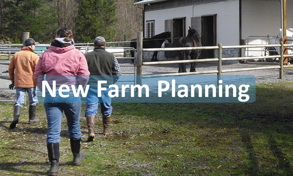 New Farm Planning button