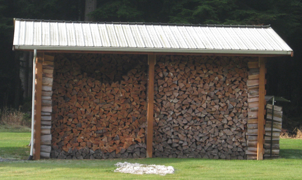 A nice benefit of owning forestland is firewood! Neatly stacked woodpiles mean you are ready for winter.