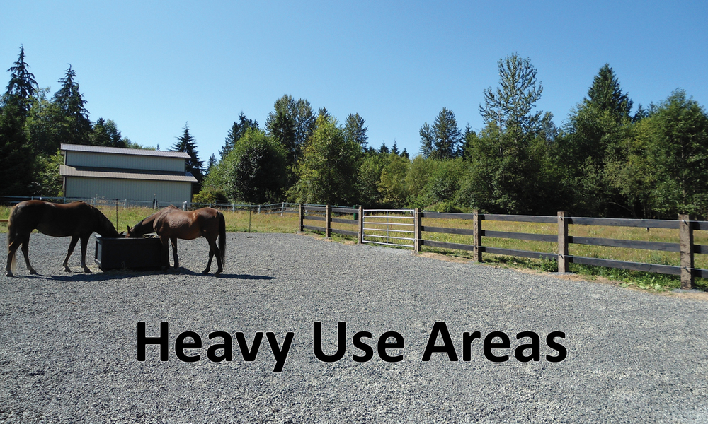 Heavy Use Areas