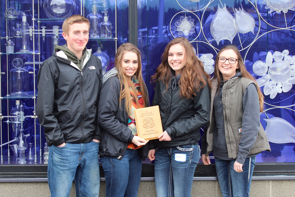 Stanwood High School Envirothon team 1 will compete at the state Envirothon two-day competition in May in North Bend.
